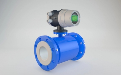 Waste water sludge electromagnetic flow meter water sensor