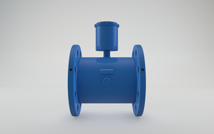 Battery type electromagnetic flow meter