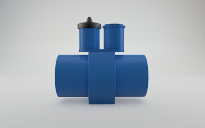 MGG/KL-PF partial filled electromagnetic flow meter