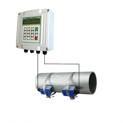 Wall mounted Ultraonic flow meter