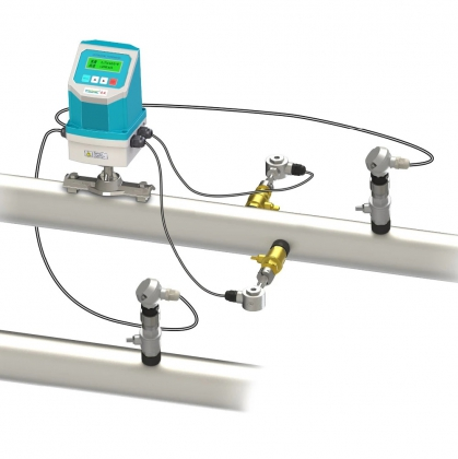 Insertion type ultrasonic flow meter